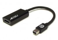 Accell UltraAV DisplayPort to HDMI 1.4 Active Adapter