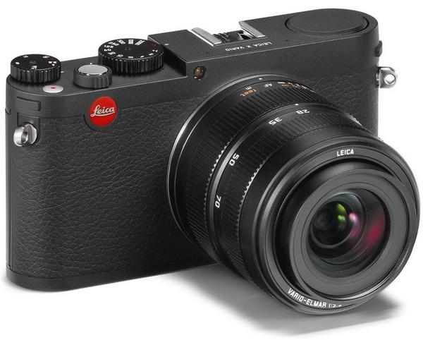 Leica X Vario APS-C Compact Camera angle