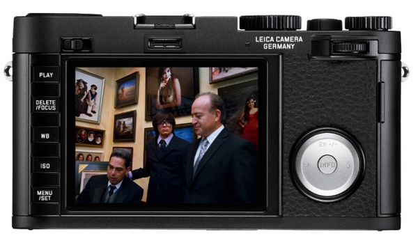 Leica X Vario APS-C Compact Camera back