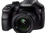 Sony Alpha A3000 DSLR-Style Mirrorless Camera angle